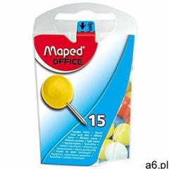 Pinezki MAPED do tablicy korkowej duża (15) 343011 - ogłoszenia A6.pl