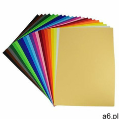 Karton kolor BAMBINO B2 50x70 270g op.20 - żółty, 9244 - ogłoszenia A6.pl