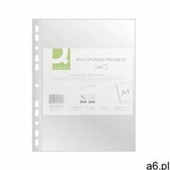 Q-connect Koszulki na dokumenty , pp, a4, krystal, 50mikr., 100szt. (5705831157217) - ogłoszenia A6.pl
