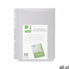 Koszulki na katalogi Q-CONNECT, PVC, A4, krystal, 150mikr., 5szt., KF14793 - ogłoszenia A6.pl
