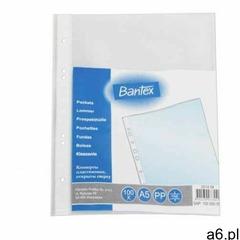 Koszulki na dokumenty Bantex, groszkowe, format A5, grubość 50 mic, opakowanie 100 sztuk ★ Rabaty ★  - ogłoszenia A6.pl