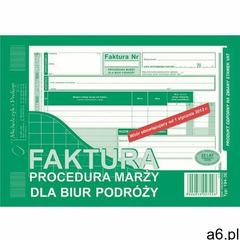 Druk 194-3e faktura proc.marży-dla biur podr. mip marki Michalczyk i prokop - ogłoszenia A6.pl