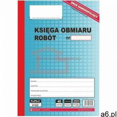 Księga obmiaru robót samokopiująca [Pu/Pb-2] - ogłoszenia A6.pl