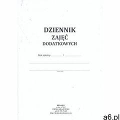 Dziennik zajęć dodatkowych [Men-I/6-D] - ogłoszenia A6.pl