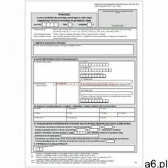 Wniosek o zwrot podatku akcyzowego dla rolników [WZA-1] wzór na 2021 - ogłoszenia A6.pl