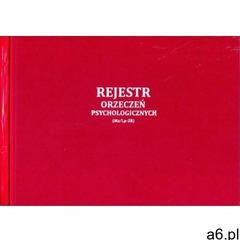 Firma krajewski Rejestr orzeczeń psychologicznych [mz/lp-28] - ogłoszenia A6.pl