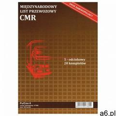 Firma krajewski Międzynarodowy list przewozowy cmr [pu/cmr-5] - ogłoszenia A6.pl
