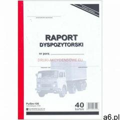 Raport dyspozytorski [Pu/Sm-106], 47359 - ogłoszenia A6.pl