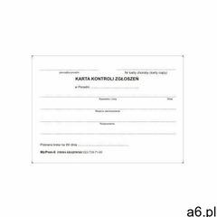 Firma krajewski Karta kontroli zgłoszeń do poradni [mz/pom-6] - ogłoszenia A6.pl