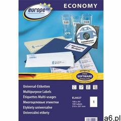 Etykiety AVERY ZWECKFORM ECO 210x297mm ELA027, ELA027 - ogłoszenia A6.pl