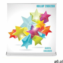 Roll-up exclusive (200 x 200 cm) z wydrukiem marki Agi.pl reklama - ogłoszenia A6.pl