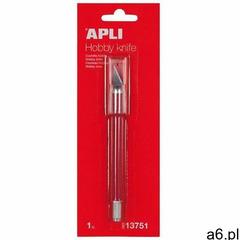 Nóż precyzyjny APLI Hobby Knife skalpel czerwony, AP13751 - ogłoszenia A6.pl