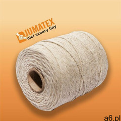 Sznurek nici lniane JUMATEX matowe 0,5kg ok.400mb, sz 0080 - ogłoszenia A6.pl