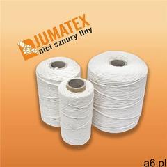 Sznurek nici lniane JUMATEX bielone białe 10dkg (5908241110166) - ogłoszenia A6.pl