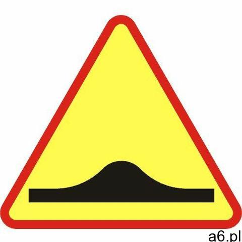 Znak ostrzegawczy A-11a próg zwalniający - 1