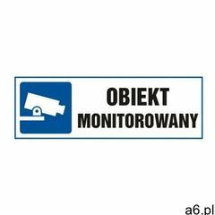 znak obiekt monitorowany - ogłoszenia A6.pl