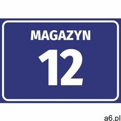 Naklejka magazyn wraz z numerem, oznaczeniem literowym marki Wally - piękno dekoracji - ogłoszenia A6.pl