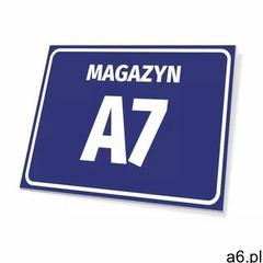 Wally - piękno dekoracji Tabliczka magazyn wraz z numerem, oznaczeniem literowym - ogłoszenia A6.pl