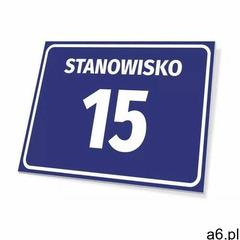 Wally - piękno dekoracji Tabliczka stanowisko wraz z numerem, literą - ogłoszenia A6.pl