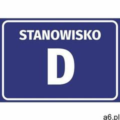 Naklejka stanowisko wraz z numerem, literą marki Wally - piękno dekoracji - ogłoszenia A6.pl