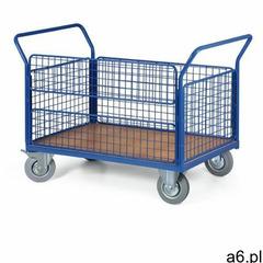 Wózek platformowy osiatkowany, 1000x700 mm, nośność 400 kg - ogłoszenia A6.pl