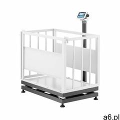TEM Waga inwentarska - skalibrowana - 300 kg/100 g - klatka dla zwierząt - LCD AEK+C070X1100300  - ogłoszenia A6.pl