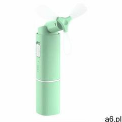 przenośny mini składany ręczny wiatrak wiatraczek wentylator zielony (cxzd-b06) marki Baseus - ogłoszenia A6.pl