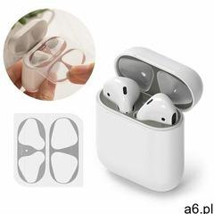 Ringke 2x folia ochronna naklejka osłony przeciw kurzowi do etui bazy słuchawek apple airpods 2 / ai - ogłoszenia A6.pl
