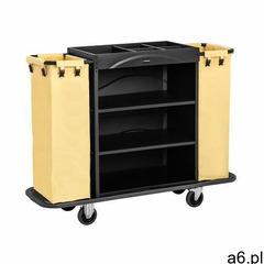 Uniprodo wózek hotelowy - 2 worki na pranie - 150 kg uniclean 142b - 3 lata gwarancji - ogłoszenia A6.pl