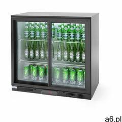 Hendi Lodówka barowa na napoje 2-drzwiowa 228 L - kod Product ID - ogłoszenia A6.pl