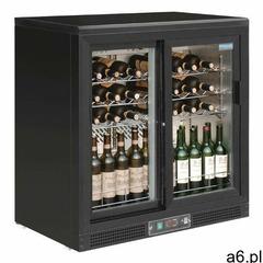Chłodziarka na wino z drzwiami suwanymi   254l marki Polar refrigeration - ogłoszenia A6.pl