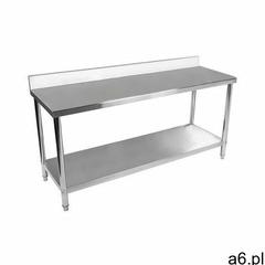 Royal catering stół roboczy - stal nierdzewna - 200 x 60 cm - 195 kg - rant rcwt-200x60sb - 3 lata g - ogłoszenia A6.pl
