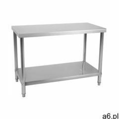 stół roboczy - 120 x 60 cm - 110 kg - stal nierdzewna rcwt-120x60e - 3 lata gwarancji marki Royal ca - ogłoszenia A6.pl