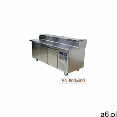 Stół chłodniczy wentylowany | 3 pary drzwi + 1 chłodzona strefa gn | -2° +8° \ +2° + - ogłoszenia A6.pl