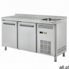 Stół chłodniczy 2-drzwiowy ze zlewem RT-2DS - ogłoszenia A6.pl
