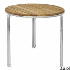 Stół sztaplowany okrągły | 60(Ø)x(h)72cm marki Bolero - ogłoszenia A6.pl