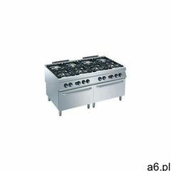 Kuchnia gazowa 8 palnikowa z piekarnikiem gaz. gn 2/1   56000w marki Diamond - ogłoszenia A6.pl