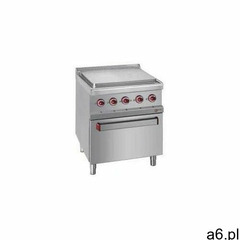 Diamond Kuchnia elektryczna 4 płytowa z piekarnikiem el. gn 2/1 | 14300 w - ogłoszenia A6.pl