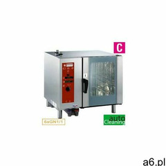 Piec konwekcyjno-parowy | elektryczny | 6x GN 1/1 | automatyczne czyszczenie | 10100 W | 400V | 898x - ogłoszenia A6.pl