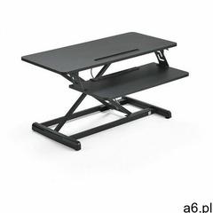 Nakładka ergonomiczna na biurko READY, 880x400 mm, czarny - ogłoszenia A6.pl