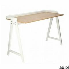 Skandynawskie biurko białe - vennie marki Producent: elior - ogłoszenia A6.pl