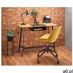 Loftowe biurko horizon - dąb złoty marki Producent: elior - ogłoszenia A6.pl