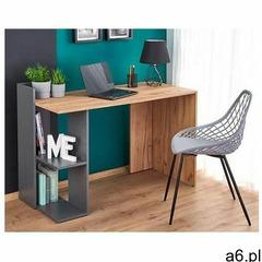Skandynawskie biurko Multo - dąb wotan + antracyt - ogłoszenia A6.pl