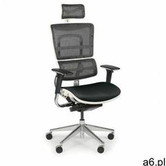 B2b partner Wielofunkcyjne krzesło biurowe winston white sab, czarny/biały - ogłoszenia A6.pl