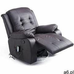 Fotel tv do masażu grzanie marki Aosom - ogłoszenia A6.pl