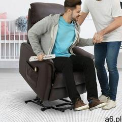 Fotel tv elektryczna opcja wstawania marki Aosom - ogłoszenia A6.pl