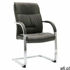 Elior Szare ergonimiczne krzesło konferencyjne do biura - lauris 3x - ogłoszenia A6.pl