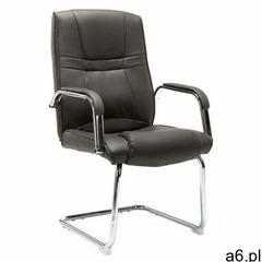 Szare tapicerowane krzesło biurowe - Glomer 2X - ogłoszenia A6.pl