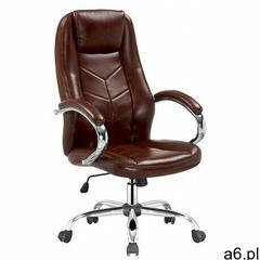 Fotel obrotowy Waldon - brązowy - ogłoszenia A6.pl