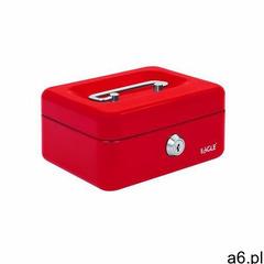 Kasetka na pieniądze EAGLE XS - czerwona, 8878XS - ogłoszenia A6.pl